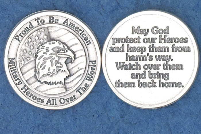Military Prayer Pocket Token